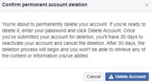 How to Delete Facebook Account 7 Steps
