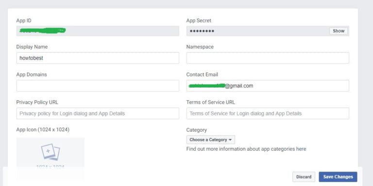 How to create Facebook App Id and Secret key 2019