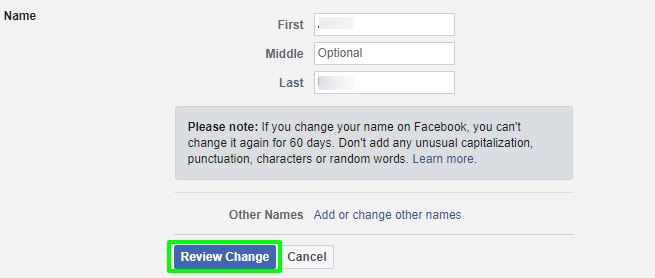 How to Change your name on Facebook in 3 Steps