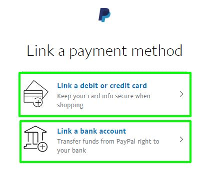link payment method Paypal