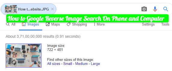 How to Google Reverse Image Search