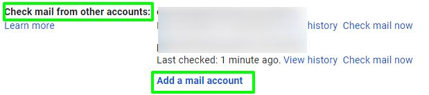 check mail from other account