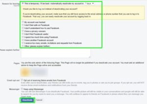 How to Deactivate Facebook Account in 7 Steps