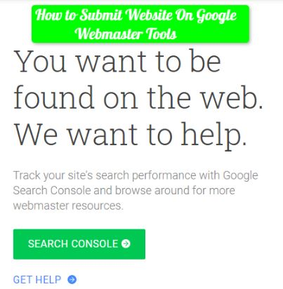 How to Submit Website On Google Webmaster Tools
