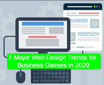7 Major Web Design Trends for Business Owners in 2020