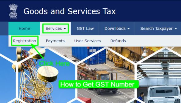 How to get GST Number