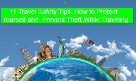 11 Travel Safety Tips How to Protect Yourself and Prevent Theft While Traveling