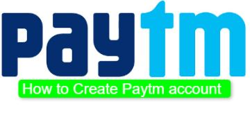 Paytm Create New Account