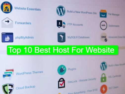 Best Host For Website