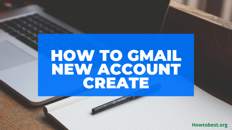 How To New Account Create On Gmail