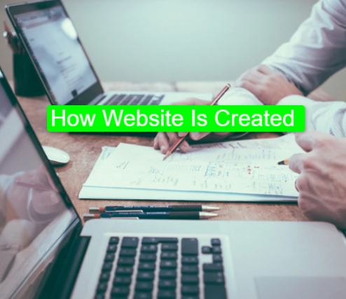 How Website Is Created