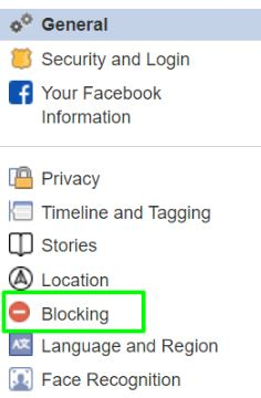 click on blocking